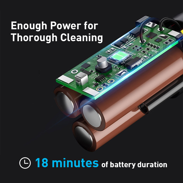 Baseus A2 Car Vacuum Cleaner Mini Handheld Auto Vacuum Cleaner with 5000Pa Powerful Suction For Home & Car & Office 3