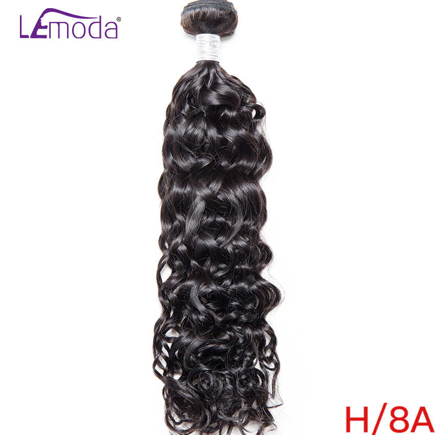 40Inch LeModa Malaysian Water Wave Human Hair Bundles 100% Remy Hair Extensions Weave 1Pc/lot