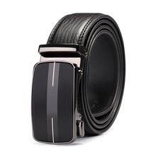 Automatic Buckle high quality Genuine Leather Belt For Men