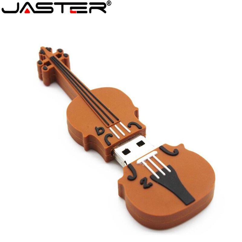 JASTER Mini Cello U Disk 4GB 16GB 32GB 64GB  Violoncello Usb 2.0 Violin Memory Stick  Music Usb Flash Drive  Present Mini Gift