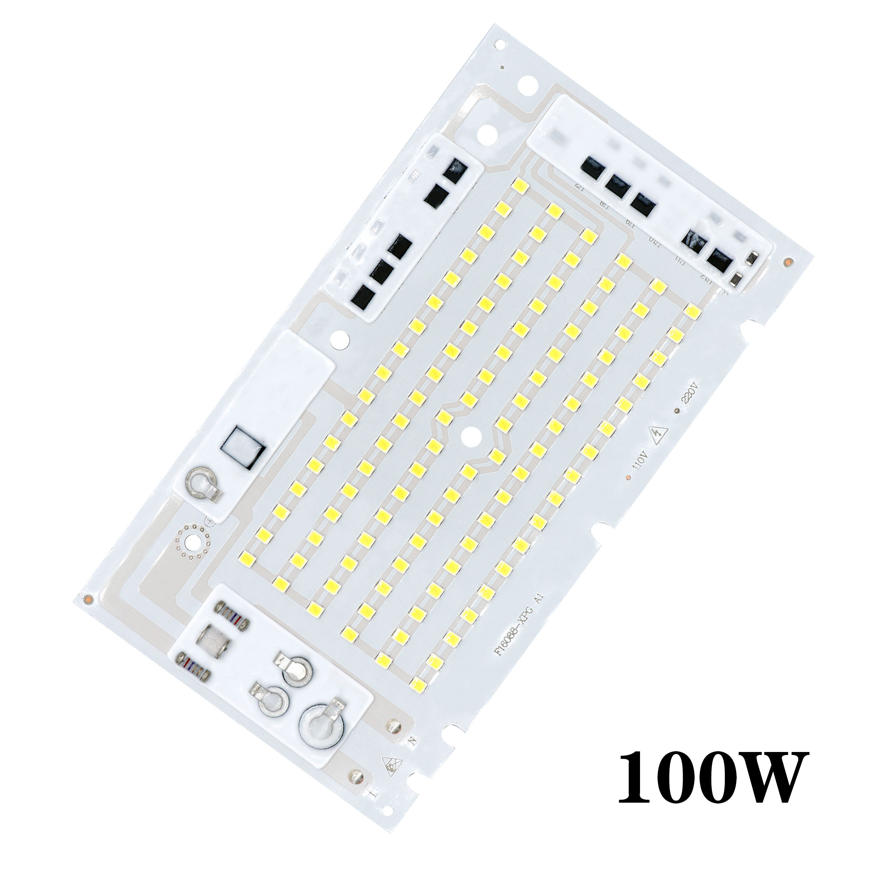 <font><b>10W</b></font> 20W 30W 50W 100W <font><b>LED</b></font> Bulb Chip SMD2835 Bead Smart IC AC220V DIY for Outdoor Floodlight Cool White Warm White for DIY image