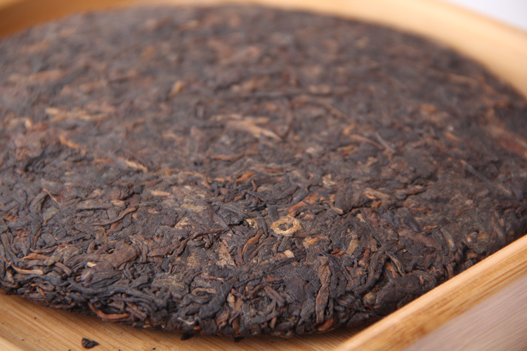 357g China Yunnan Ripe pu'er  tea Collecting Pu'er 2012 Old Pu'er tea Cake Green Food for Health care lose weight 3
