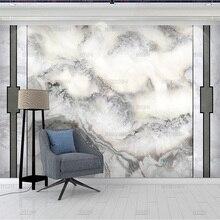Обои hd с мраморным рисунком, простые настенные бумажные обои с чернилами, ландшафтом, каменной росписью, для дивана, телевизора, гостиной
