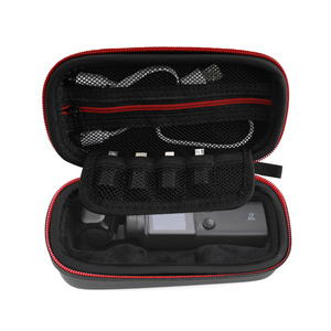 Image 3 - Storage Bag for FIMI Palm Gimbal Camera Case Carrying Case Portable Zipper Travel Accessories Hard Shell Waterproof Pu Bag