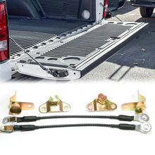 6pcs Left & Right Tailgate Hinges Cables Kit for Chevrolet Silverado GMC Sierra