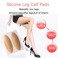 1 Pair Slicone Leg Calf Pads Leg Correctors For Soft Self adhesive For Crooked Thin Legs Body Beauty Corrector
