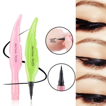 Natural Feather-Shaped Eyeliner Waterproof Smudge-Proof Quick Drying Liquid Pencil New