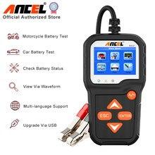 ANCEL – BA301 testeur de batterie de voiture 6V/12V, analyseur 100 à 2000CCA, charge rapide, outils de Diagnostic, PK KW600