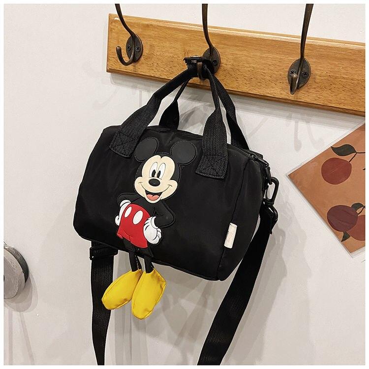 Disney mickey mensageiro saco mickey mouse meninas