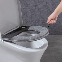 2019 Universal Warm Soft Washable Toilet Seat Cover Mat Set for Home Decor Closestool Mat Seat Case Toilet Lid Cover Accessories