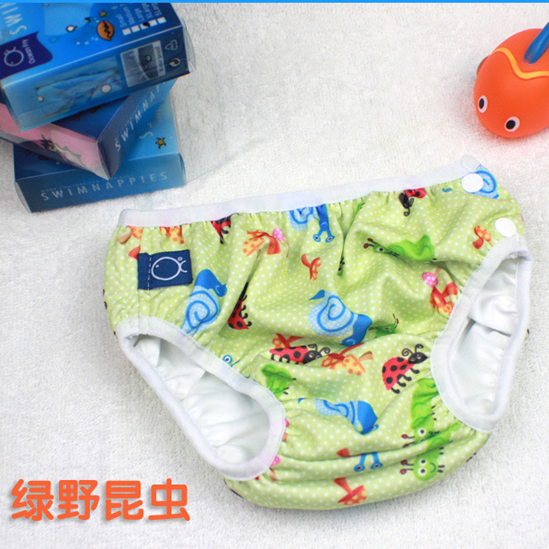 BABY'S Swimming Trunks Waterproof Leak-Proof Prevention Of Urinary Swimming Trunks Elastic Baby Men And Women Children Triangula