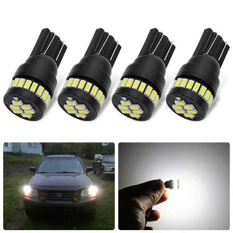 LED W5W T10 194 168 24SMD Led Turn Parking Bulb Car CANBUS License Light For Lada Vesta Granta Kia ceed rio 3 4 Sportage Cerato