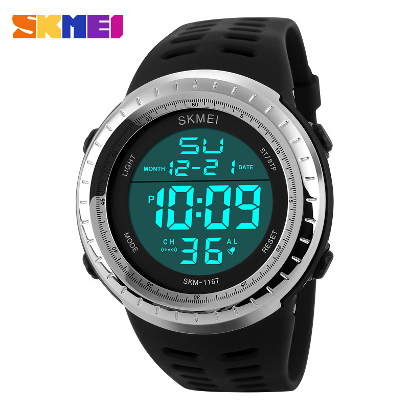 2019 Digital Watches Mens <font><b>SKMEI</b></font> Top Brand Lcd Electronic Wrist Watch Boys Men Stopwatch Date Sports Clock Relogio Masculino image