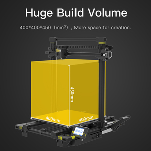 Image 3 - ANYCUBIC Chiron Newet 3D Printer kit With Clips Plus Size Ultrabase Extruder Screen Dual Z Axisolor Updated Impresora 3d Drucker