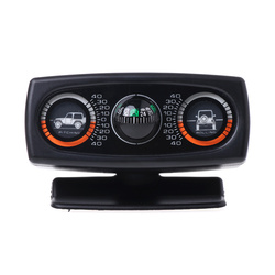 3 в 1 автомобильный компас Инклинометр Угол наклона измеритель уровня Finder Градиент балансир Прямая поставка No22