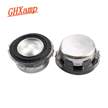 Ghxamp 1.5 Pollici Altoparlante Gamma Completa di Cristallo Bacino Telaio in Metallo Bacino Magnete Al Neodimio Filo di Alluminio Bobina 4ohm 2 Pcs