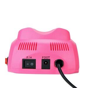 Image 3 - 35000/20000 RPM elektryczna wiertarka do paznokci zestaw urządzeń frez Manicure Pedicure taśmy szlifierskie zestaw zmywacz żelu do paznokci sprzęt