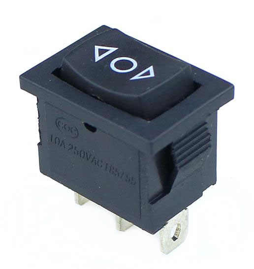 1 pièces KCD1 Mini noir 3 broches/6 broches On/Off/On interrupteur à bascule AC 6A/250V10A/125V