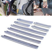 8 stuks Universele Auto Deur Edge Guards Trim Molding Protection Strip Scratch Protector Auto Crash Guard Collision(China)