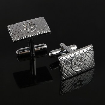 Silver Plated Men's Cufflinks 4