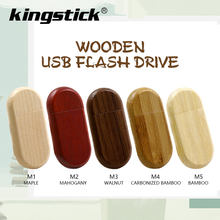 Venta caliente de madera rojo U disco USB 2,0 Flash Drive, regalo de 32GB 64 gb 4 16 8 256 GB Mini pendrive con memoria