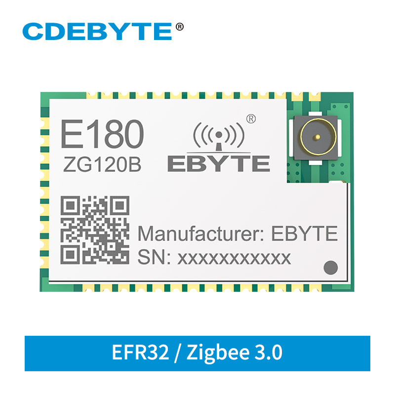 EFR32 ZigBee 3.0 Stamp Hole IPEX SMD IoT Wireless Transceiver Module E180-ZG120B Smart Hone Networking Low Power Transmitter