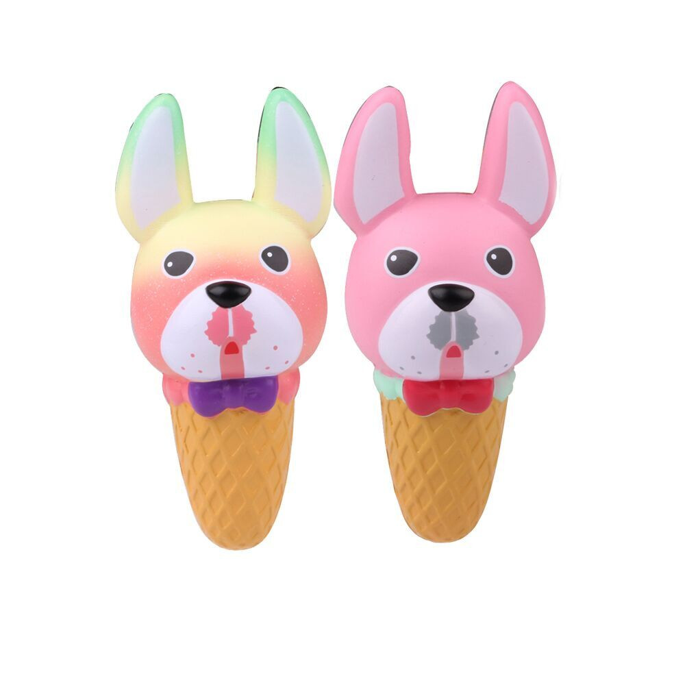 Squeeze Dog Head Ice Cream Snail Slow Rising Cream Scented Decompression Toys Stress Relief Toys Funny Gift L107