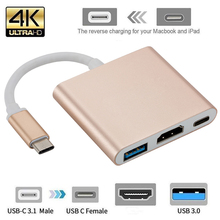 Thunderbolt 3 Adapter USB Type C Hub HDMI-compatible 4K support Samsung Dex mode USB-C Dock with PD for MacBook Pro/Air 2021