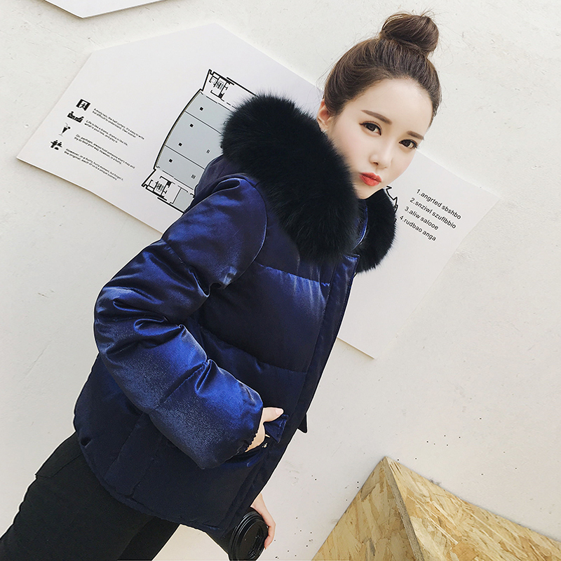 Winter Down Jacket Thick Warm 90% White Duck Down Coat Female Large Fur Hooded Women's Down Jacket Casual Outwear LW1590