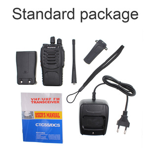 Image 5 - 2pcs Baofeng BF 888S walkie talkie Black 5W 5KM UHF 400 470MHZ 16 Channels Handheld Portable Ham Radio Two Way Radio Station