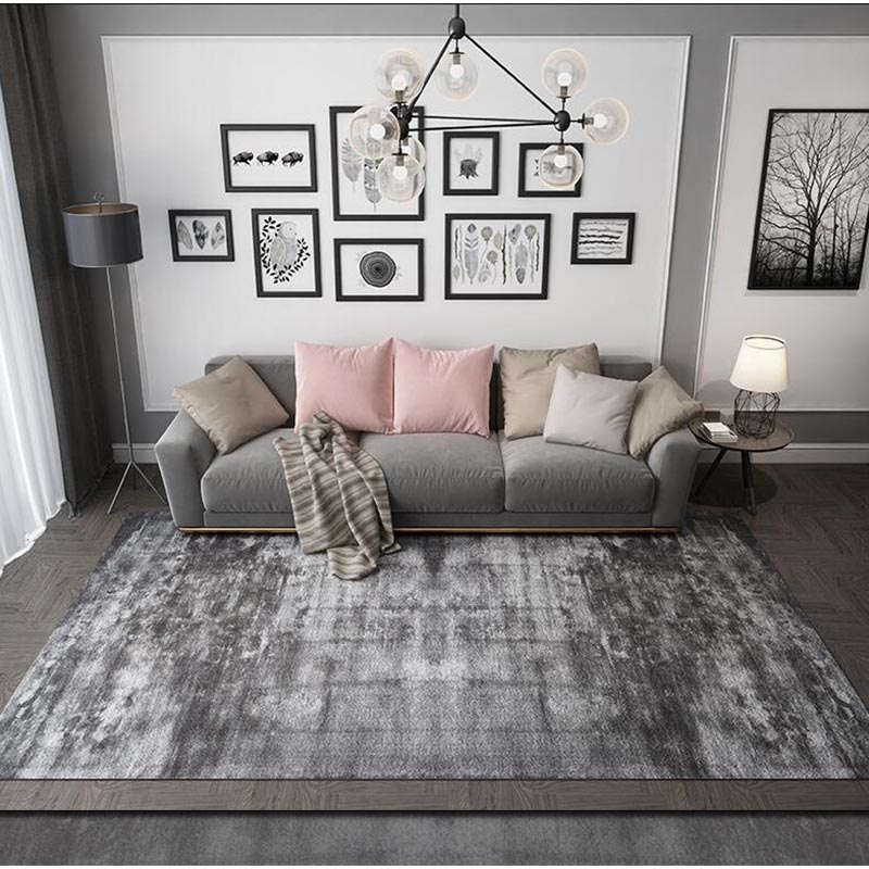 RUGS AREA RUGS CARPETS BLACK AND WHITE MODERN BIG FLOOR COOL LARGE FLORAL RUGS ~