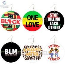 Somesoor африканские цвета одна любовь черная живая материя