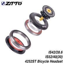 Ztto4252st bicicleta rolamento fones de ouvido 42mm 52mm cnc 11/8