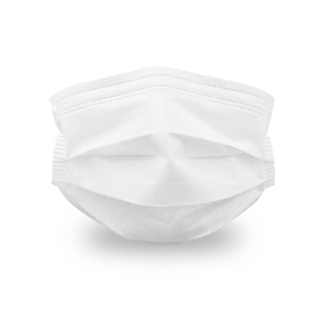 100pcs Disposable Facial Protective Mask white masks for women breathe 3-storey face mouth mask for outdoor Dustproof Balaclava 1
