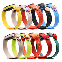 Doll-Strap Wristband Bracelet Xiaomi Silicone for 5/4/Silicone/Color-replacement