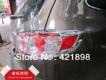 For Hyundai Santa Fe 2010 2011 2012 ABS Chrome Tail Light Rear Back Frame Lamp Cover molding