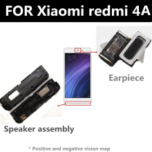 FOR Xiaomi redmi 4A Speaker earpiece FOR phone Repair and Replacement Parts repair parts plastic replacement speaker module for ipod touch 4 black