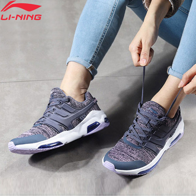 Li-Ning Women Bubble Face DB Cushion Lifestyle Shoes Fitness Comfort Breathable LiNing Li Ning Sport Shoes AGCN008 YXB139