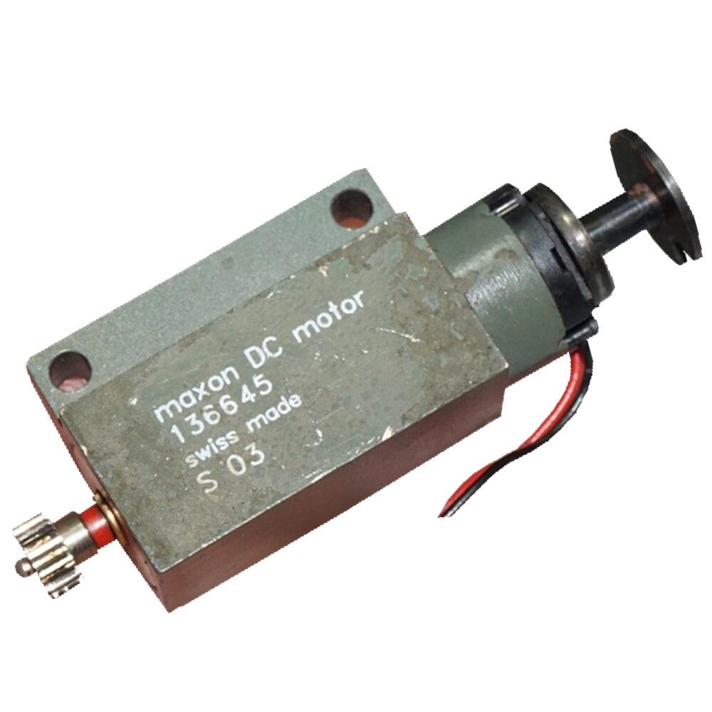 Швейцарский мотор maxon без сердечника, 136645 DC12-24V, 7800 об/мин, Миниатюрный мотор с угольной щеткой и пустотелыми чашками