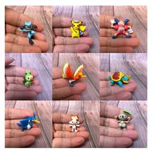 Model-Toys Tomy Dolls Car-Ornaments Pocket Collections Action-Figures Pikachu Monsters