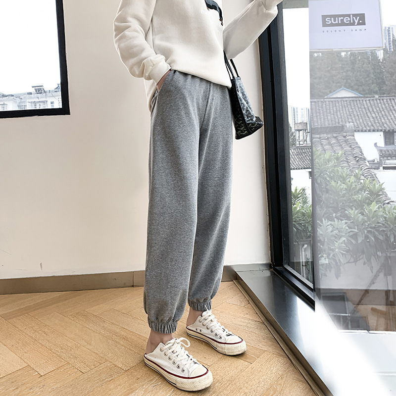 Sweatpants For Women Pants Thick Warm Trousers Autumn Winter Plus Size Loose Sports Pants Female Streetwear Joggers Pantalettes