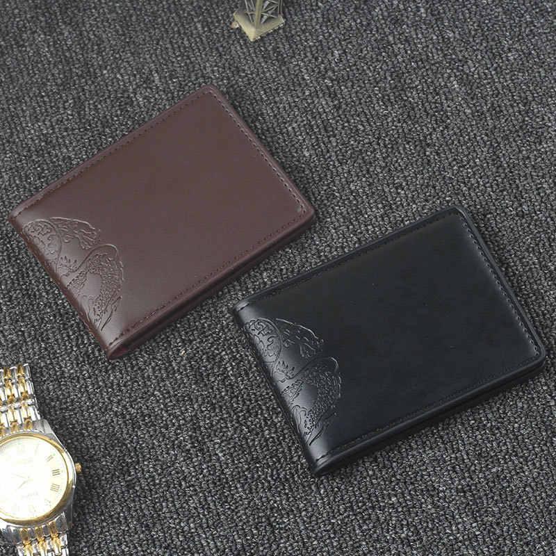 Ultra Tipis SIM Tas Dragon Cetak PU Kulit Penutup untuk Mobil untuk Dokumen Identitas Pemegang Kartu Kredit Dompet Perjalanan kasus