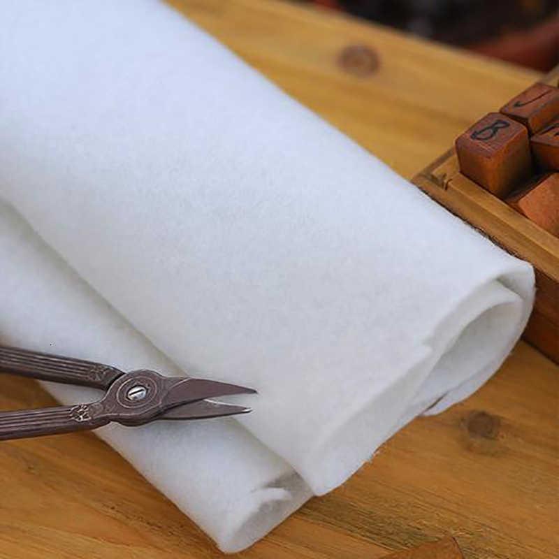 Tela Adhesiva пэчворк 180 г односторонняя ткань, хлопок, ватин, крем, наполнитель, Entretela Para Costura 50x110 см
