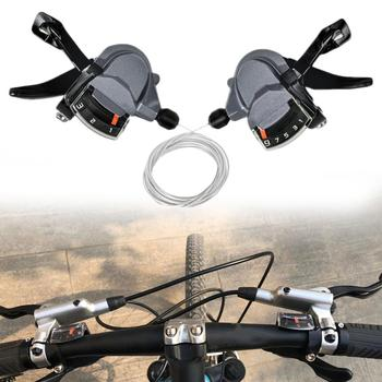 цена на Bicycle Derailleur Lever Bike M4000 Speed Shifter 9/27 S Shifting Accessories Practical Upgrade Shifters Parts Road Bike MTB