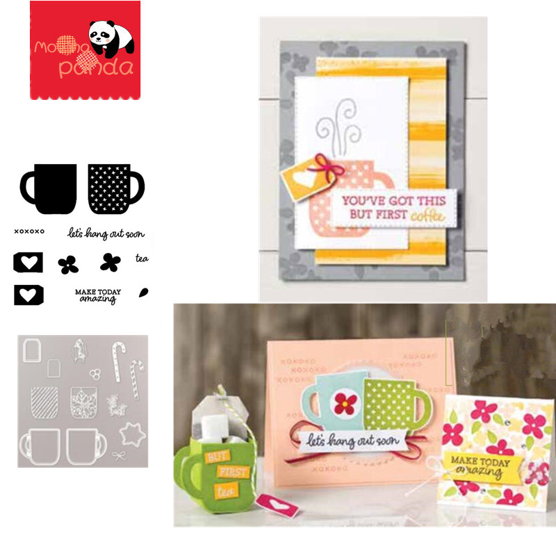 MP094 RISE AND SHINE Metal Cutting Dies And Stamps For DIY Scrapbooking/photo Album Decorative Embossing DIY Paper Cards
