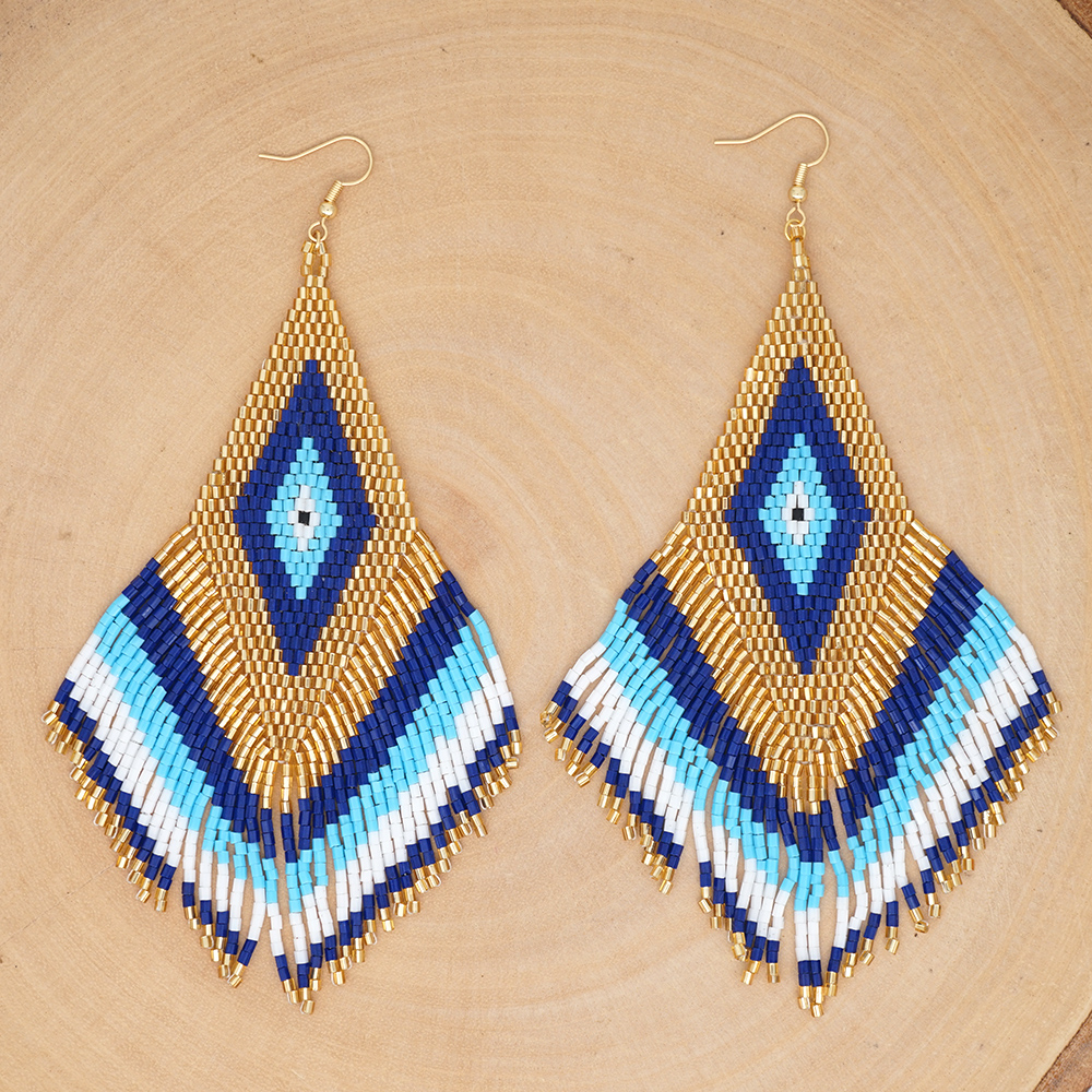Go2boho Earrings For Women MIYUKI Earrings 2020 Femme Aretes Boho Jewelry Handmade Pendientes Mujer Moda 2019 Handmade Beads