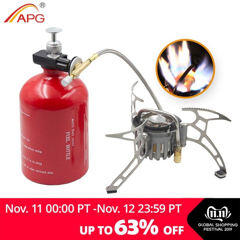Cuisinière à essence de grande capacité APG 1000ml et brûleurs à gaz portables extérieurs