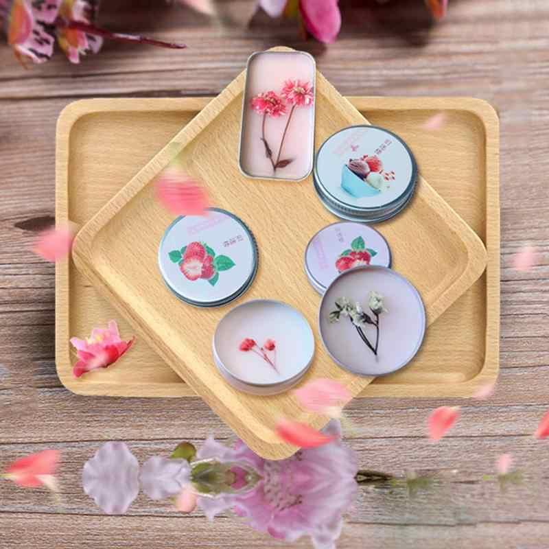 Solide Parfüm Für Männer Frauen Öl Control Floral Tragbare Runde Box Solide Parfüm Balsam Körper Duft Hautpflege Ätherisches Öl