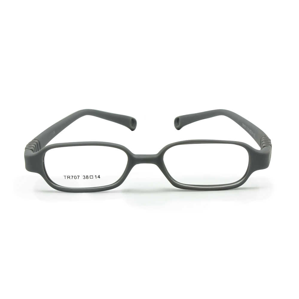 Chłopcy dziewczęta oprawki optyczne rozmiar 38/14 bez śruby niemowlęta okulary trwałe bezpieczne okulary dla dzieci rama