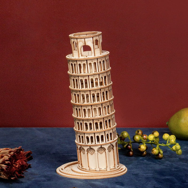 Robotime Leaning Tower of Pisa 3D Wooden Puzzle (TG304)